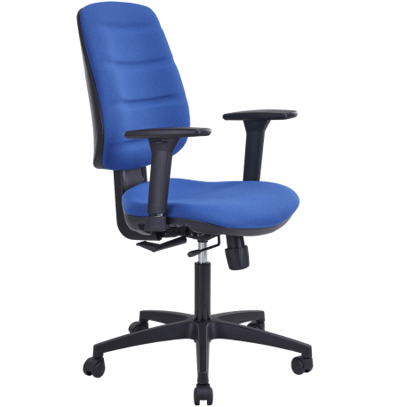 Chaise dactylo julie bleu