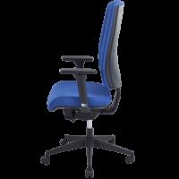 Chaise dactylo kris bleu