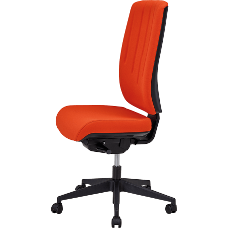 Chaise dactylo kris rouge