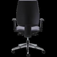 Chaise dactylo liat noir dos