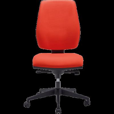 Chaise DACTYLO Liat - Couleur : Rouge