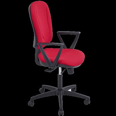Chaise dactylo ninon rouge