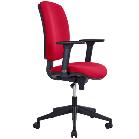 Chaise dactylo shime rouge