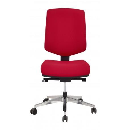 Chaise dactylo sunshine rouge