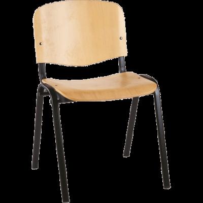 Chaise de bureau ou de réunion empilable Classic Bois