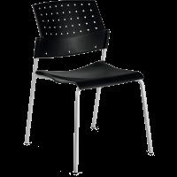 Chaise de bureau ou de reunion empilable kate