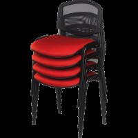 Chaise de bureau ou de reunion empilable lena 2
