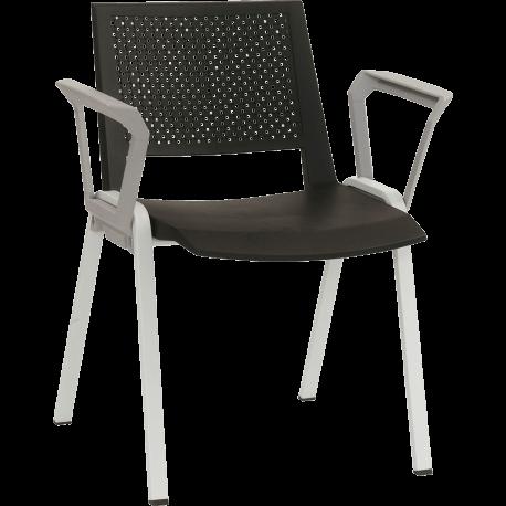 Chaise de bureau ou de reunion empilable sam 2