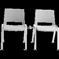 Chaise de bureau ou de reunion empilable sam