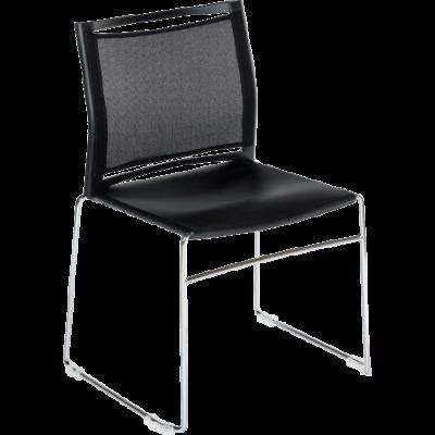 Chaise de bureau ou de réunion empilable Sarah Filet