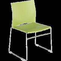 Chaise de bureau ou de reunion empilable sarah polypro 1