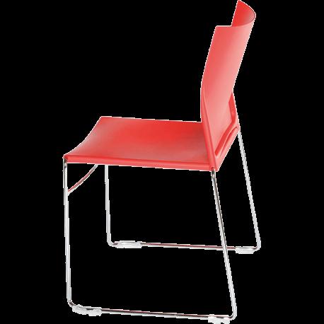Chaise de bureau ou de reunion empilable sarah polypro 4