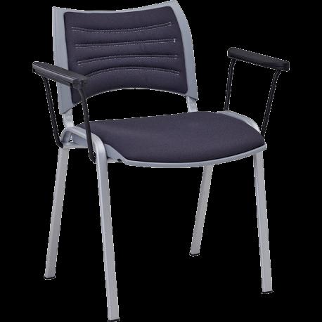 Chaise de bureau ou de reunion empilable tina 1