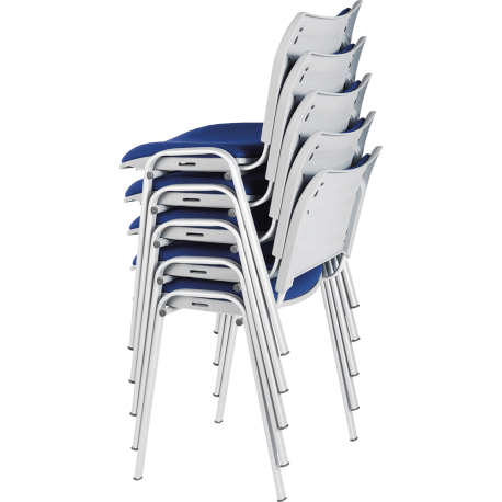Chaise de bureau ou de reunion empilable tina