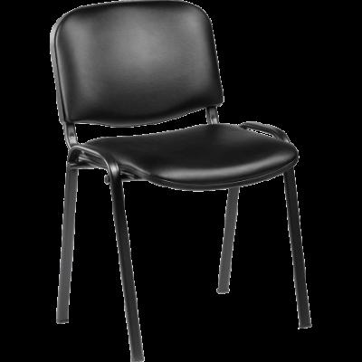 Chaise de réunion empilable Classic Skaï