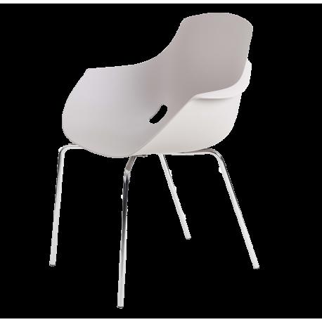 Chaise empilable de bureau empilable helene 1