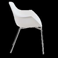 Chaise empilable de bureau empilable helene 2