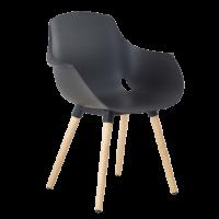 Chaise empilable de bureau empilable helene bois