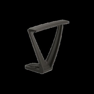 Paire d'accoudoirs fixes pour chaises de bureau