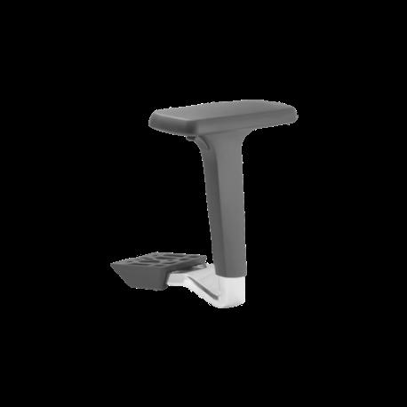 Paire d accoudoirs reglables 4d pour chaises de bureau