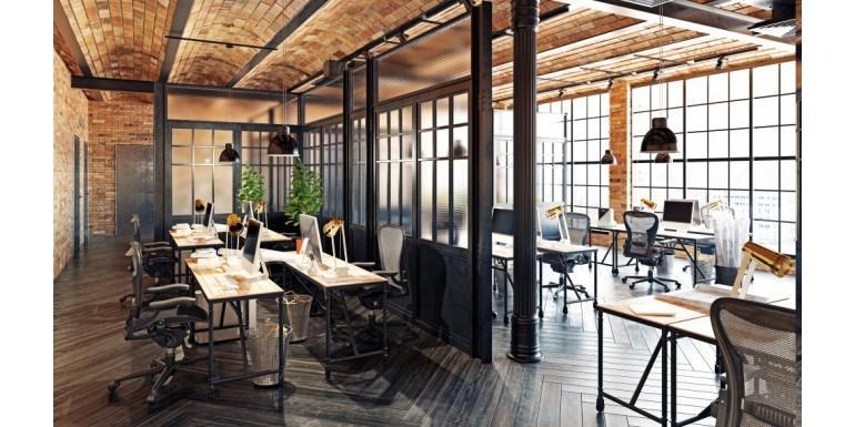Style industriel bureau